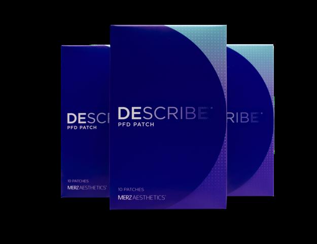 DESCRIBE PFD (Perfluorodecalin) Patch Box Packaging